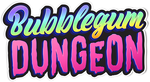 Bubblegum Dungeon - Official Logo