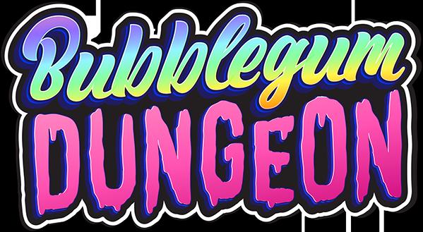 Bubblegum Dungeon - Official Logo